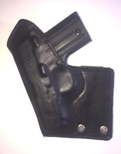 SIG SAUER P238 IWB TUCKABLE LEATHER HOLSTER LEATHER LINED