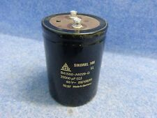S+M/ SIKOREL 105 Capacitor 22000µF 63V B41550-A8229-Q made in Germany