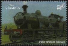 Paris-Orleans Railway (France) Class 3000 Atlantic Steam Train Locomotive Stamp