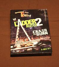 WWE: The Ladder Match 2 - Crash and Burn (DVD, 2011, 3-Disc Set) WWF