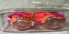 Swimming Goggles - Ice Cream Sprinkles Kid Swim Goggles Pink
