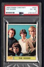 1969 THE DOORS PSA 6 PANINI CANTANTI # 297
