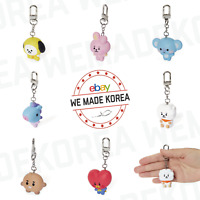 BT21 Character Baby Figure Keyring Keychain 7types Official K-POP Authentic MD