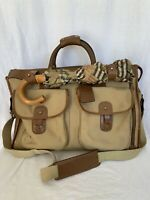 GHURKA The Express No 2 Marley Hodgson Excellent Worn Patina Duffel Bag