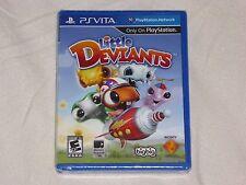 NEW (READ) Little Deviants PSVITA Game SEALED (w/ CUT) Playstation Vita US NTSC