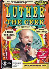 LUTHER THE GEEK Lloyd Kaufman DVD R4 - PAL - New