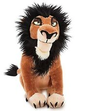 Disney Store - Scar Plush - The Lion King - Medium - 14'' - New with Tags
