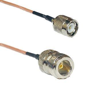 RG316 TNC MALE to N FEMALE Coax RF Cable USA-Ship