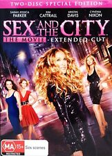 SEX AND THE CITY The Movie 2 Disc Special Edition DVD NEW