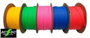 NEON COLOR BRAIDED CABLE EXPANDABLE WIRE SLEEVES NEON PET WIRE BRAID