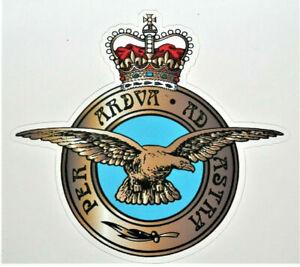 RAF UK BRITISH MILITARY ROYAL AIR FORCE STICKER UK VETERAN CARS VANS AND MORE
