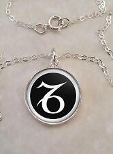 Sterling Silver .925 Pendant Necklace Choose Your Astrological Sign Symbol