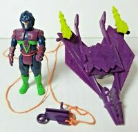 Vintage 1987 Sky Commanders Deception Raider W/ General Plague Action Figure