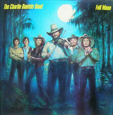 """THE CHARLIE DANIELS BAND """"FULL MOON"""" 12"""" 33RPM vinyl LP EPIC 1980 COUNTRY"""
