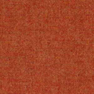 Abraham Moon Fabric 100%  Lambswool by the metre Orange Plain Weave Ref 1878/21