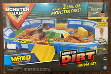 Monster Jam 6046703 Monster Dirt Arena Set 1:64 Scale - Kinetic Sand