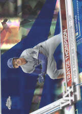 TRAYCE THOMPSON 2017 TOPPS CHROME SAPPHIRE EDITION #574 ONLY 250 MADE