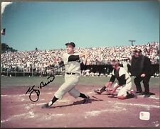 Yogi Berra Signed New York Yankees HOF 8x10 Photo Autographed GA Authenticated