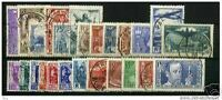 FRANCE STAMP ANNEE COMPLETE 1936 : 25 TIMBRES OBLITERES TRES BELLE QUALITE