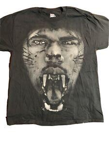 2011 Jay Z Kanye West Watch The Throne Tour Tee Shirt Sz L Hip Hop Rap Yeezy VTG