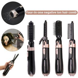 4 in 1 Hair Blow Dryer Brush Comb Hot Air Styler Tool Straightener Hair Dryer AU