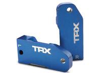 NEW Traxxas 3632A L/R Aluminim Caster Blocks Blue 1/10 Slash 2WD VXL / XL-5