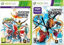Summer Stars 2012 & Winter Sterne keine Handbücher Xbox 360 PAL