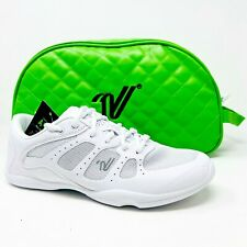 Varsity All For One A41 White Womens Athletic Cheer Shoes with Travel Case
