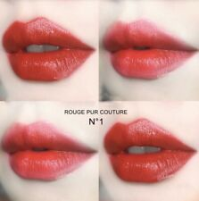 Yves Saint Laurent Ysl Rouge Pur Couture Lipstick 1 Le Rouge Blood Red Full Size