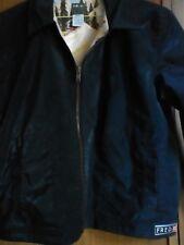 Fred Bear boys black pvc jacket sz 7