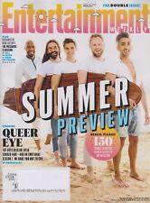 Entertainment Weekly June 1/8, 2018  Queer Eye's Karamo Brown, Jonathan Van Ness