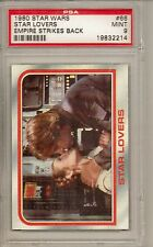 1980 STAR WARS #66 STAR LOVERS - EMPIRE STRIKES BACK  PSA 9  MINT