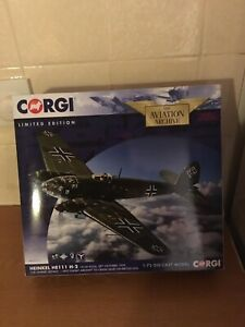 Corgi Aviation Archive HEINKEL He111 H-2 AA33717 1:72 Scale