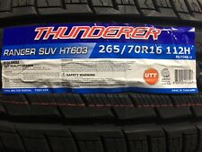 4 NEW 265/70-16 Thunderer Ranger SUV HT603  Tires 265 70R16 70R 2657016