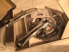 NEW Campagnolo Triple Racing 9s Crankset 175mm 30-42-52T | record chorus daytona