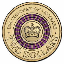 2013 $2 TWO DOLLARS CORONATION PURPLE COIN EXTREMELY RARE & HIGHLY SOUGHT AFTER#