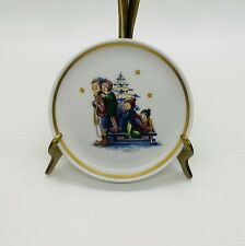 Vtg Miniature Collector Plate by Berta Hummel A Time To Remember Schmid 1980