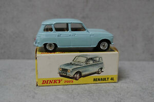 Spanish Dinky Toys 518  Renault 4L Blue Original Near Mint Boxed