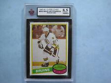 1980/81 O-PEE-CHEE NHL HOCKEY CARD #354 BRAD MCCRIMMON ROOKIE KSA 8.5 NM/MT+ OPC