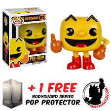 FUNKO POP PAC-MAN - PAC MAN VINYL FIGURE + FREE POP PROTECTOR