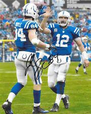 Indianapolis Colts #84 JACK DOYLE Signed Autographed Football 8x10 Photo COA!