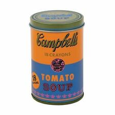 Andy Warhol Soup Can Crayons Orange by Mudpuppy Press Staff (2016, Book, Other)