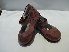 BIMBI BABY PURPLE LEATHER SHOES NEW MADE IN ITALY SIZE 19