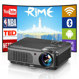 New ListingLed Android Blue-tooth Projector Home Hd1080P Youtube Video Game Movie Meeting