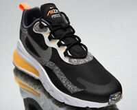 Nike Air Max 270 React Men's Black Silver Low Athletic Lifestyle Sneakers Shoes
