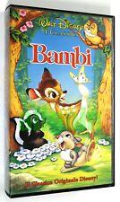 BAMBI Walt Disney Classici 1992 VHS Videocassetta VS-4372