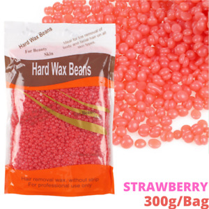 300g Hard Wax Bean No Strip No Pain Hot Film Body Waxing Hair Removal Depilatory