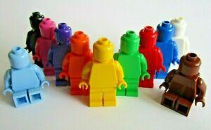 LEGO Monochrome Minifigure - Choose Colour NEW Design ID 3626, 76382, 73200