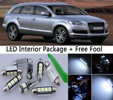 Canbus White LED Interior Package Light Bulb 16pcs KIT Fit Audi Q7 2007-2013 M