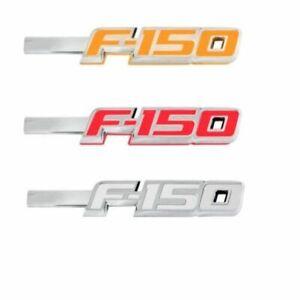 Recon 264282CH LED Lighted Fender Emblems 2Pc Kit Chrome for 2009-2017 Ford F150